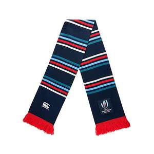 Canterbury Men's Official Rugby World Cup 2019 Tournament Scarf now £8.65 at Amazon (£13.14 Non-prime)