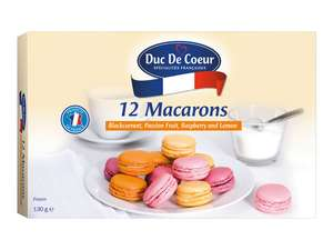 Duc De Coeur 12 Macarons french £2.49 at LIDL