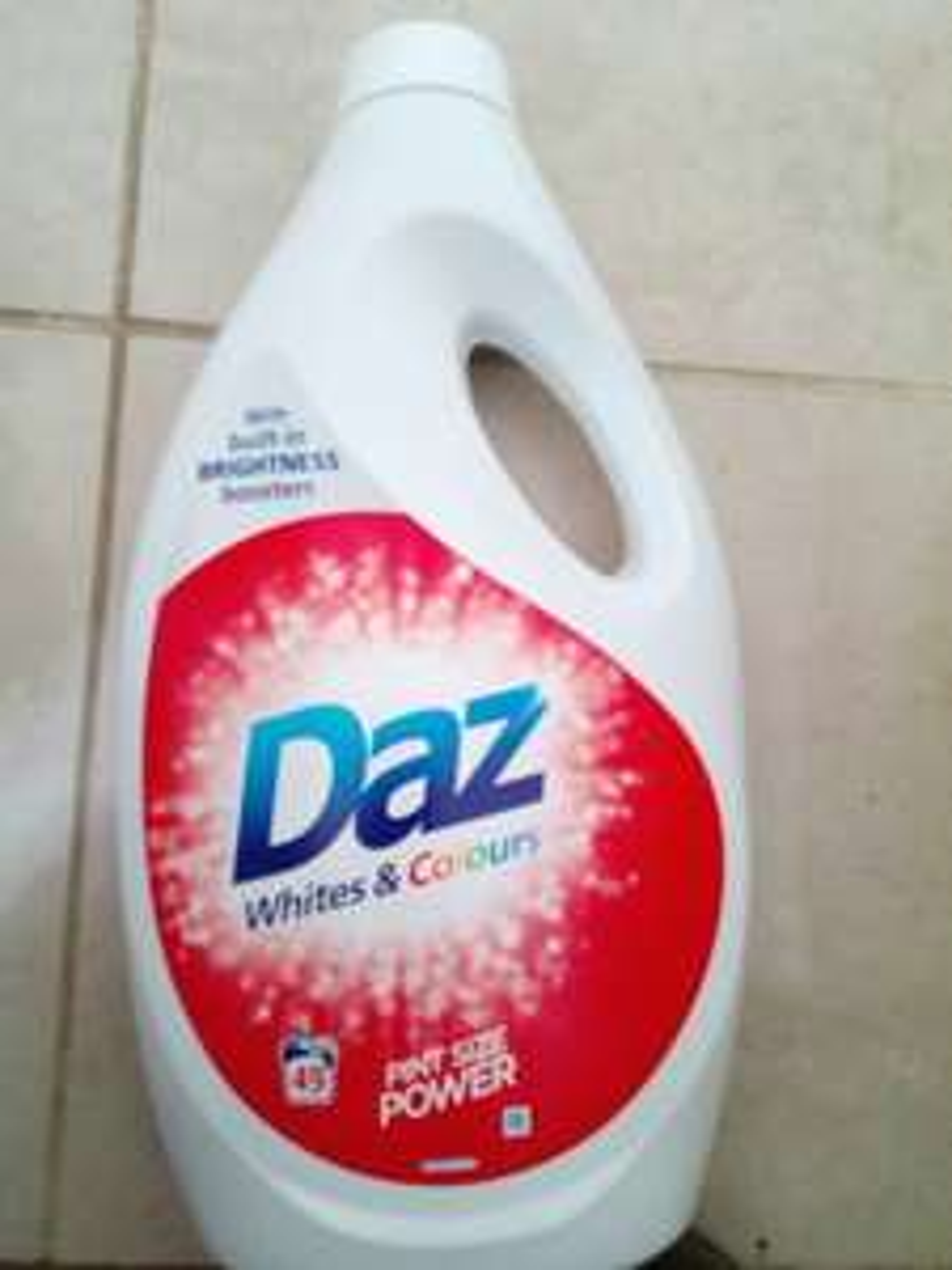 Daz washing liquid 49 washes 1.7L £2 @ Poundland seven sisters road instore