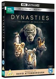 Blue Planet II and Dynasties 4K UHD Blu-Ray both for £30 delivered at Zoom