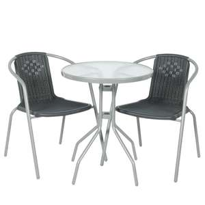 Monaco 2 Seater Bistro Set £33.74 with code @ Robert Dyas - Free C&C
