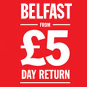 (Daytrip / Foot Passengers) Return ferry from Cairnryan to Belfast £5 / Holyhead to Dublin or Fishguard to Rosslare £6 @ Stena Line