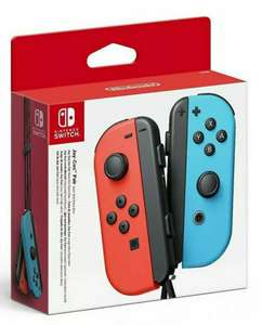 Official Nintendo Switch Joy-Con Controllers Pair Neon Red / Blue £59.79 @ Ebay/funboxmedialimited