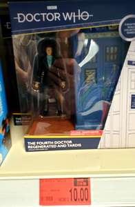 4th Fourth Doctor Who and Tardis 5.5 inch Figures Character Options £10 B&M