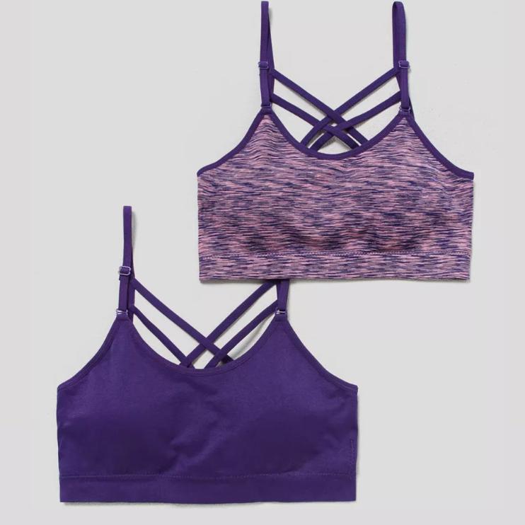 2pk Seam free padded non wired sports bra £4 @ Matalan (Free C&C)