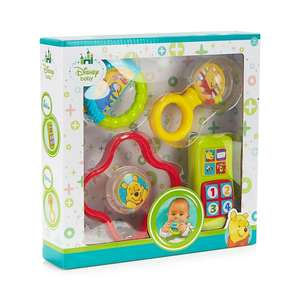 Disney Baby 4-in-1 Rattle Set @ Debenhmas Free C&C And Free Delivery With Code Provided £9
