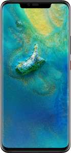 Huawei Mate 20 Pro on O2 - Unltd Minutes and Texts, 30GB Data for £30pm with 99p upfront (£5 auto cashback - 24mo - 720.99) @ Mobiles.co.uk