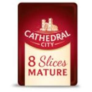 Cathedral City Mild Cheddar Cheese 8 Slices £1 @ Asda