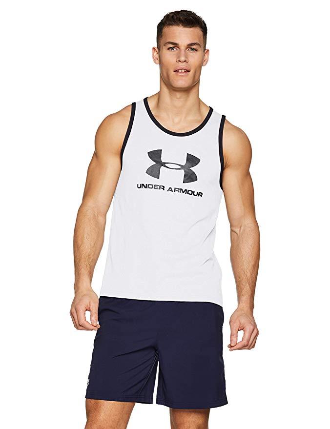 Under Armour Sportstyle Logo Muscle Tank NOW £13.19 (Prime) / £17.68 (non Prime) at Amazon