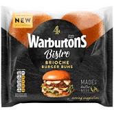Warburtons 4 Bistro Brioche Burger Buns £1 @ Asda