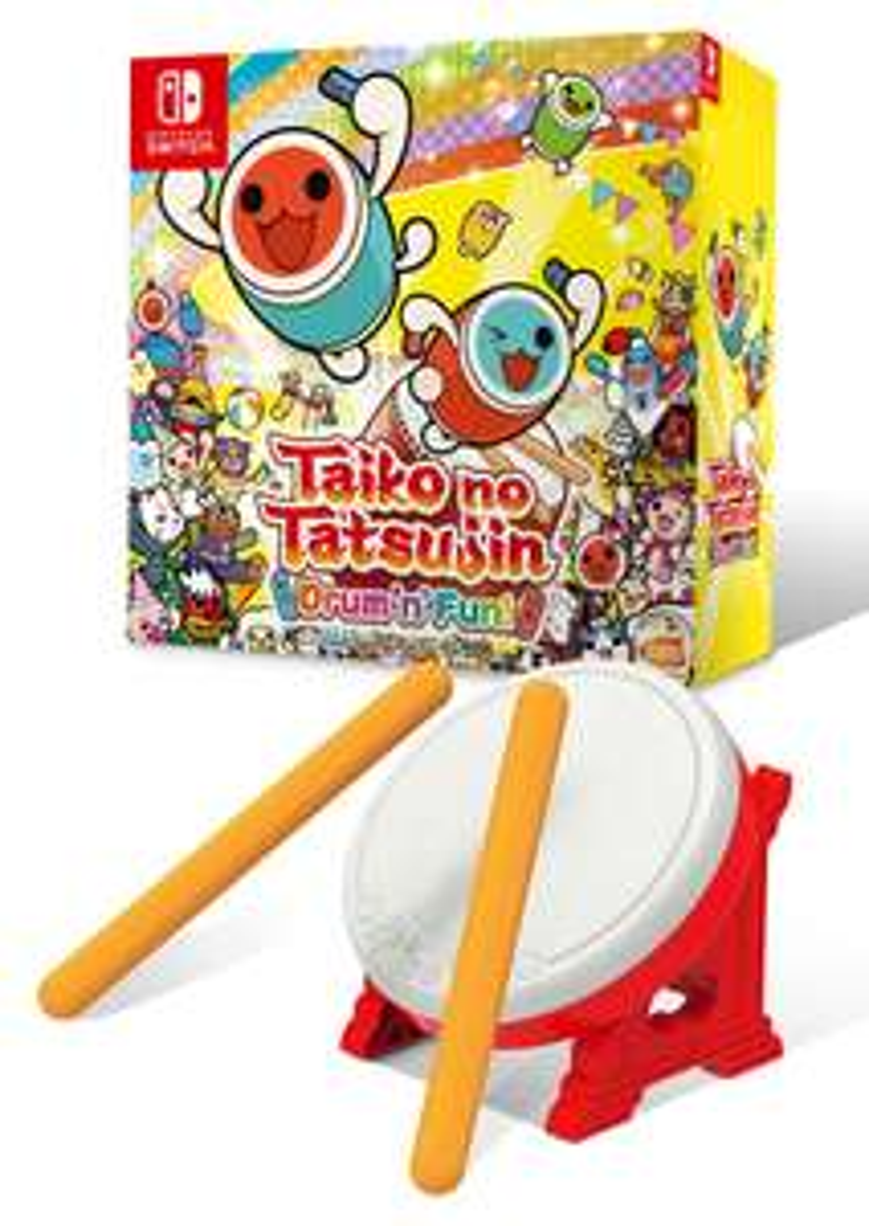 Taiko No Tatsujin: Drum'N'Fun! - Collector's Edition (Namco Bandai Sale) - £79.99 @ Bandai