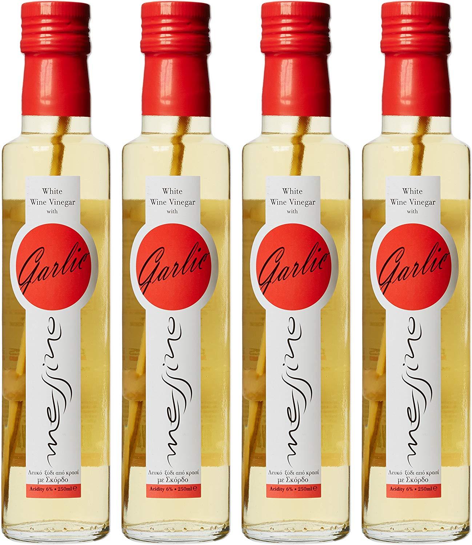 Messino White Vinegar with Garlic 250 ml (Pack of 4) @ Amazon £6.47 Prime £10.96 Non Prime
