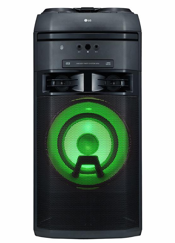 LG XBOOM OK55 500W Megasound Party Karaoke Hi-Fi System - Black - £179 @ Currys