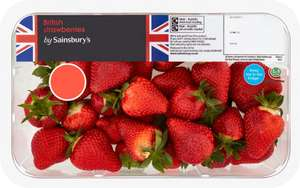 British Strawberries 800g for £3 (£3.75/kg) +5x Nectar points @ Sainsbury's online and instore