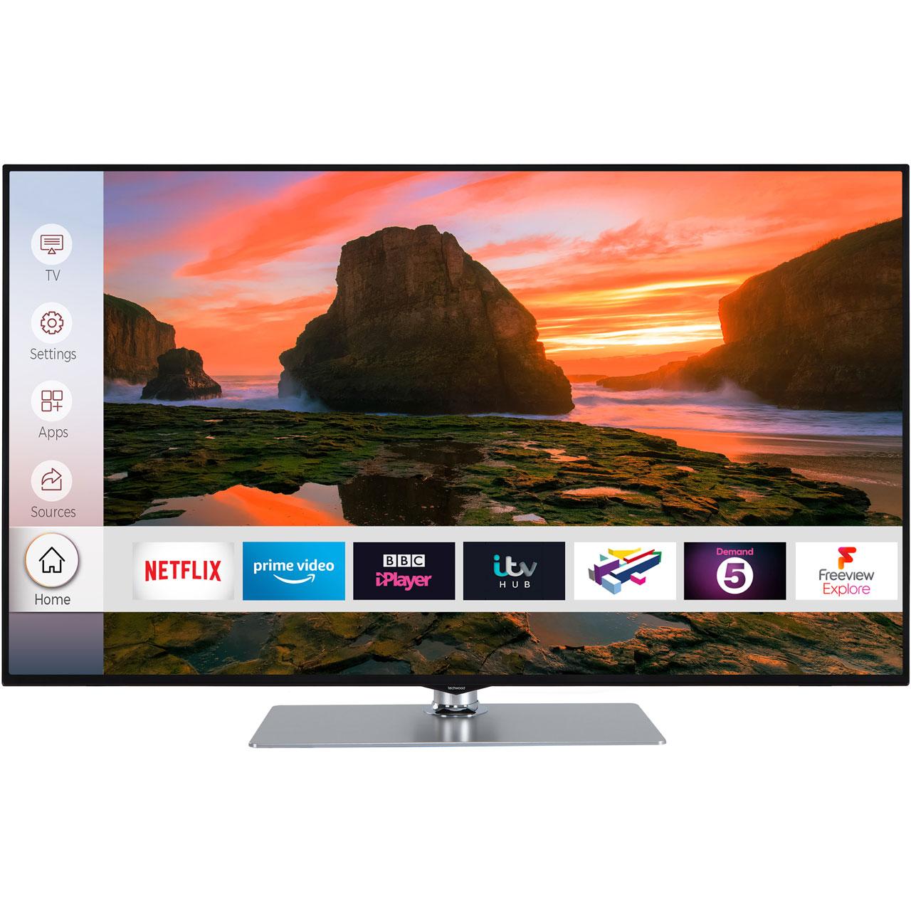 Techwood TV + Xbox Bundles from just £299 @ AO e.g 43'' Smart 4K TV + Xbox One S 1TB w/ Forza Horizon 4 £299