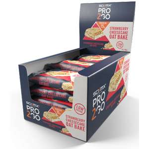 48x Pro 2Go Oat Bake Protein Bars - £21 inc. free shipping @ SciMix