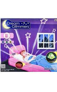 Dream Glimmers Child Inflatable Bed with Night Light £2.99 in ALDI