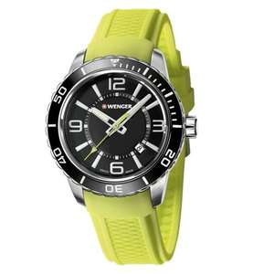 Wenger Roadster Men's  Yellow Silicone Strap Watch £50 Delivered @ H Samuel