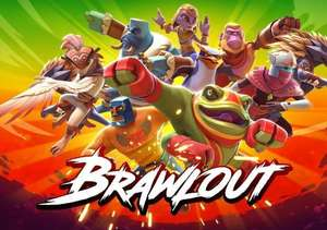 Brawlout Fighting Game on Steam + 20% cashback with code £1.60 @ Gamivo