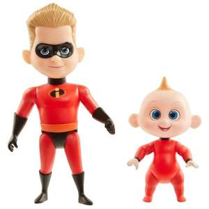 Incredibles Dash & Jack-Jack Action Figures 2pk - £1 @ B&M (In-Store)