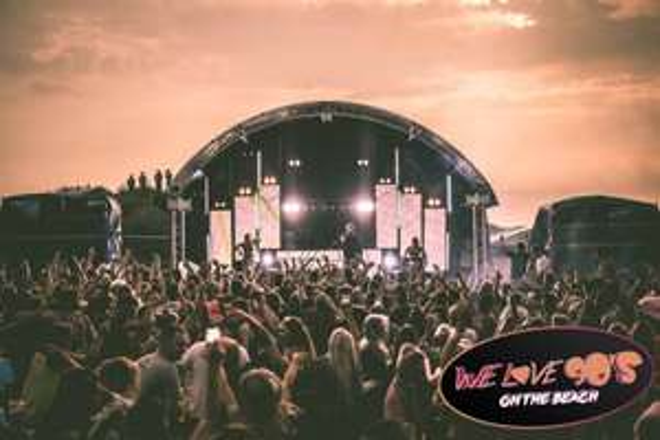 We Love 90's On The Beach @ £12.50 per ticket via Planet Radio