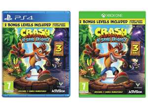 Crash Bandicoot N Sane Trilogy (PS4 / Xbox One) for £17.85 delivered @ ShopTo