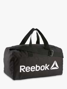 Reebok Act Core Small/Medium Grip Duffle Bag, Black, £8.50/9.50 at John Lewis and Partners(£2 C&C)