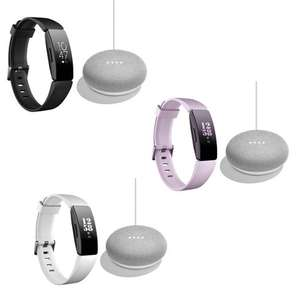 FITBIT Inspire HR Fitness Band + Google Home Mini £79 Delivered @ Currys - Various colours