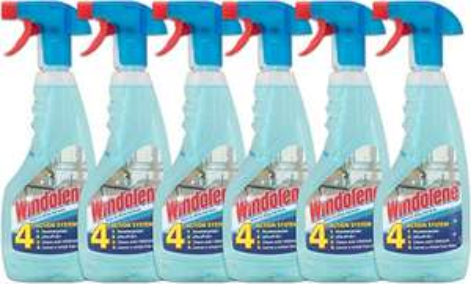 Windolene Window Cleaner Spray 500ml, Pack of 6 for £2.40 @ Amazon Prime / £6.89 non-Prime