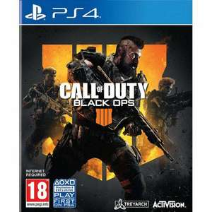 CALL OF DUTY: BLACK OPS 4 PS4 for £13.95 Delivered @ The Game Collection
