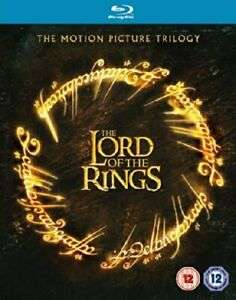 The Lord of the Rings Motion Picture Trilogy Theatrical Version 3 Disc Blu-ray - Used - £3.19 Delivered @ worldofbooks08 / eBay