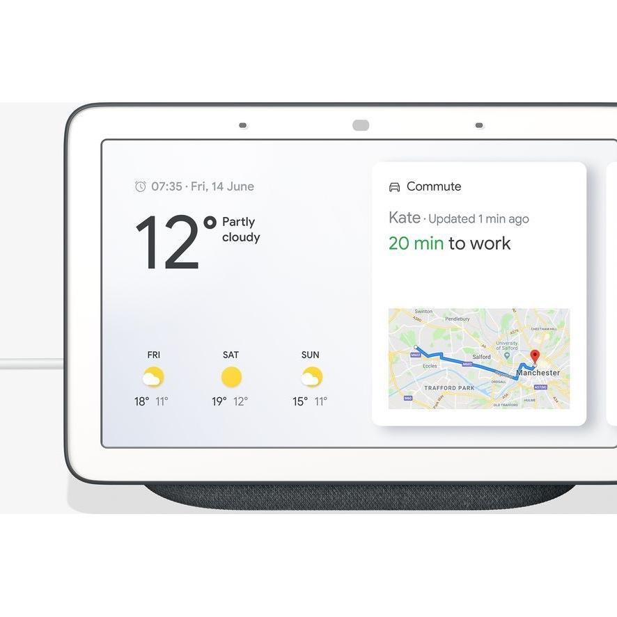 Google Home Hub - Chalk/Charcoal - £39 @ Currys eBay