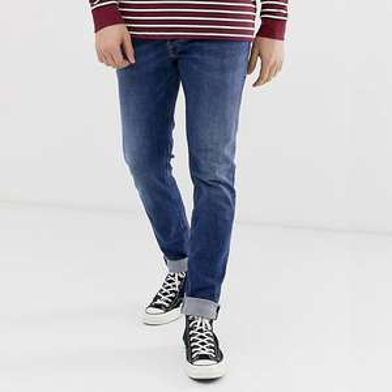 Men's Diesel Sleenker Skinny Fit Jeans in Mid Wash - £65 Delivered @ ASOS