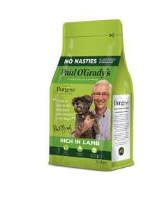 Paul O'Grady Rich in Lamb 2.5kg Dog Food (Pack of 4) £6.99 (Prime) £11.48 (Non Prime) @ Amazon