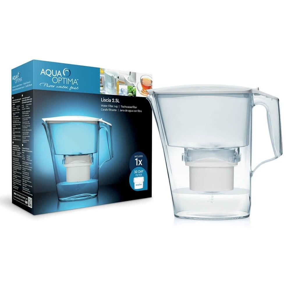Aqua Optima 2.5L Liscia Filter Jug with Filter + 30 day Cartridge Asda Wembley  £5 instore