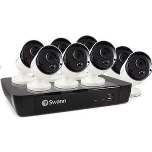 Swann SWNVK-1675808 4K 16 Channel x 8 NHD-865MSB 5MP Bullet Cameras @ Costco Online £589.89 with voucher