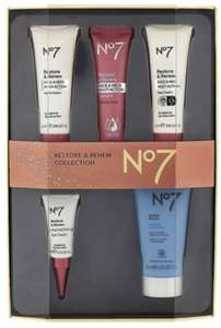 No7 Restore And Renew Collection (Imperfect stock) - £15