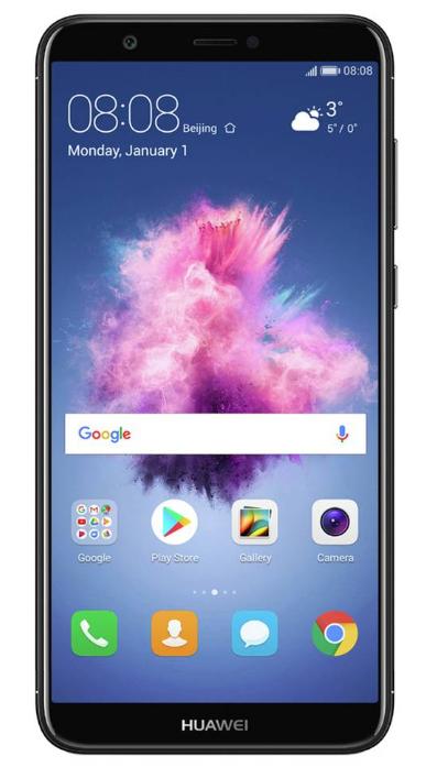 Huawei P Smart in black, sim free, 32GB memory, 3GB ram | Argos - £129.95