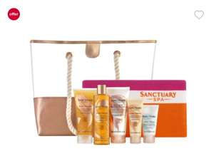 Sanctuary Spa Golden Summer Beach Bag and Towel (Better than half price) - £22 @ Boots