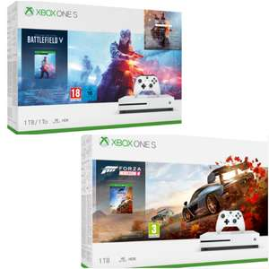 Xbox One S 1TB Battlefield V Deluxe Edition Bundle (or) Forza Horizon 4 £174.85 delivered @ Shopto