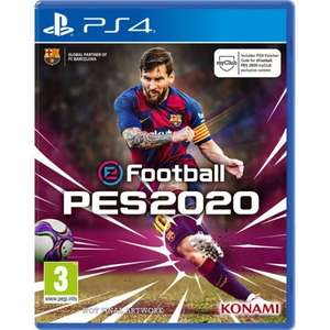 eFootball PES 2020 (PS4/Xbox One) £34 95 Delivered (Preorder