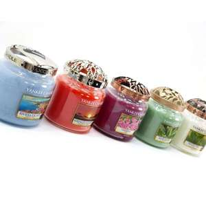 Yankee Bundles - Classic Medium Jar with free Illuma-Lid Jar Topper £10 delivered @ Yankee Bundles