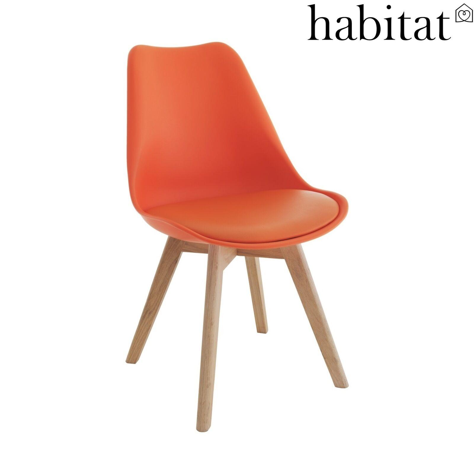 4x Habitat Jerry Chairs Kitchen / Dinning (used) - £221 @ Argos eBay