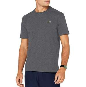 Lacoste crew neck t shirt in grey - £17.33 (Prime) £21.82 (Non Prime) @ Amazon