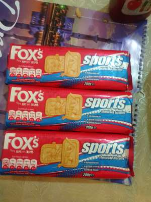 Fox's sports shortcake biscuits 3 for £1 Farmfoods
