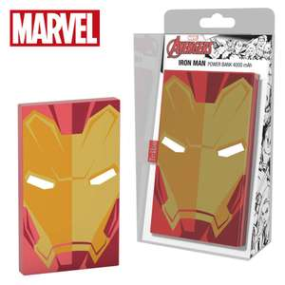 Tribe Marvel Deck Universal Power Bank 4000mAh External Battery Portable Charger - Iron Man - £15.99 (Prime) £20.48 (Non Prime) @ Amazon