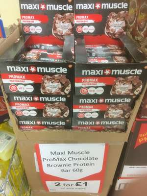 Maxi muscle 2 for a pound @ Heron Foods