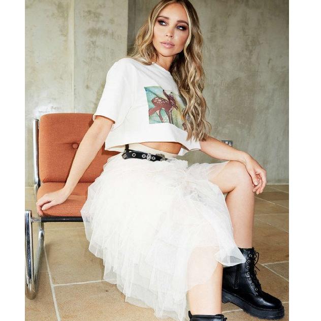 Frill mesh skirt £20 + £3.49 P&P  from Missy Empire