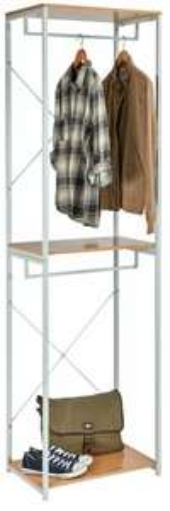 Half Price Argos Home Single 2 Rail Wardrobe Frame - White - £19.99 + Free C&C @ Argos