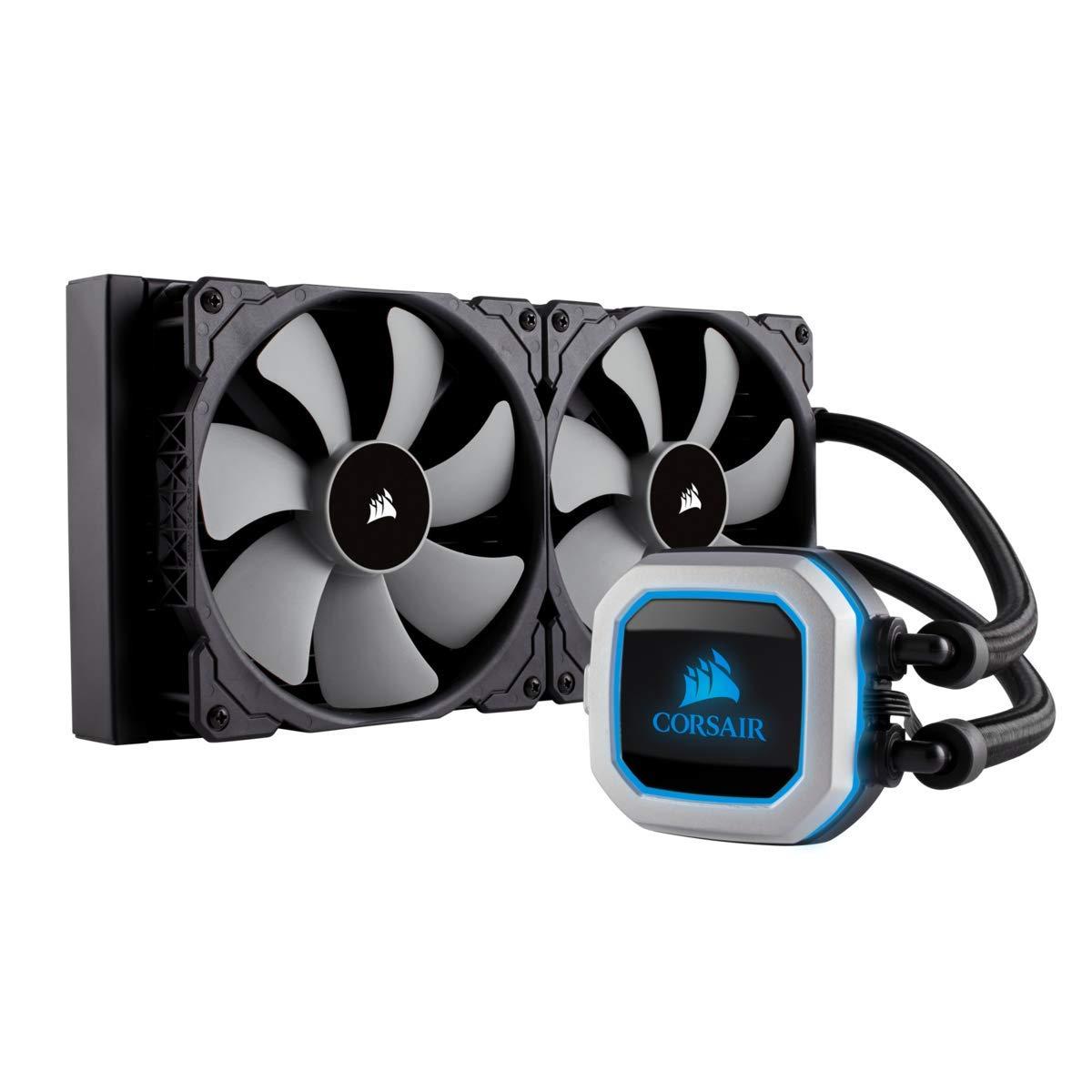 Corsair H115i PRO RGB Water Cooling (280mm) CLC Kit - £100 @ Amazon